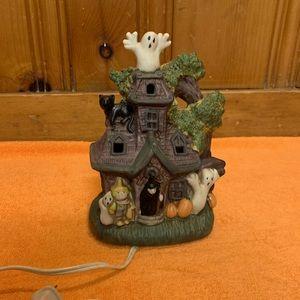 Vintage Halloween Haunted House Light